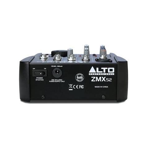 Alto Mixer Live Zmx52 hire alto zmx52 live mixer