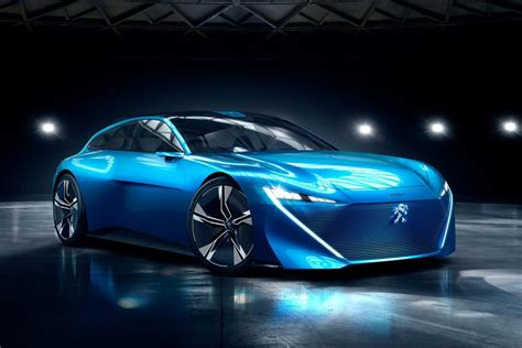 peugeot sports car 2017 this peugeot instinct is a 300hp plug in hybrid that
