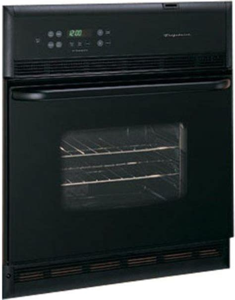 frigidaire feb24s5ab single electric wall oven with dual