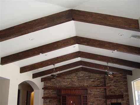 Ceiling Beams Faux faux wood beams carmellalvpr