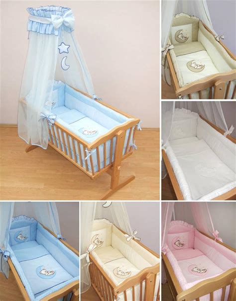 nursery crib bedding accessories cradle bumper set