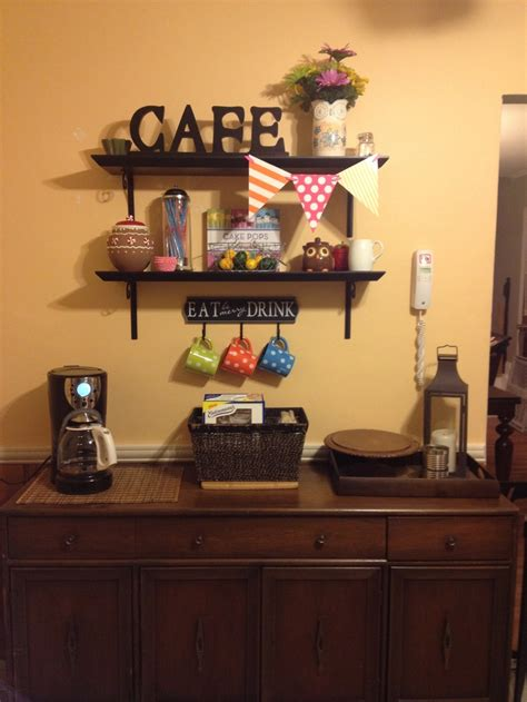 coffee kitchen decor ideas kitchen decor coffee corner minus the flags is