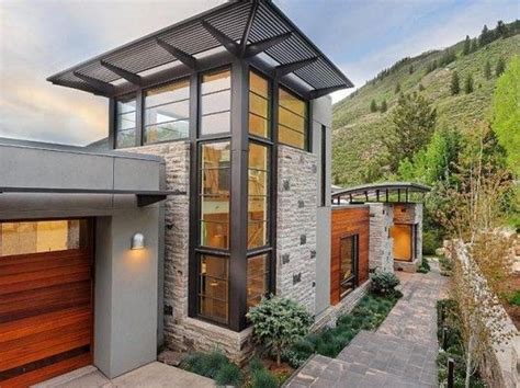 colorado style house plans mountain modern architecture humble abodes pinterest