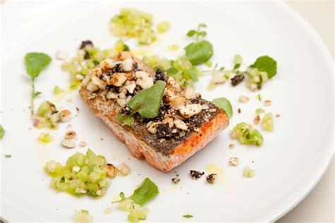 Garlic Licorice crusted salmon recipe great chefs