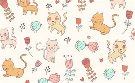free cat background pattern baby background designs 100 cute seamless patterns