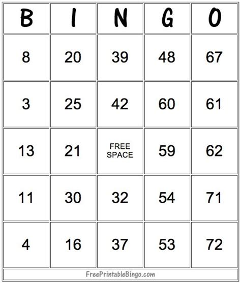 how to make a bingo card with pictures best 25 printable bingo cards ideas on free