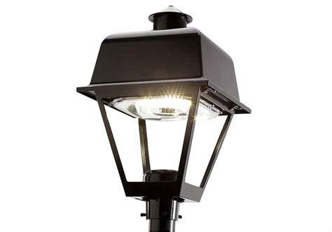 Outdoor Led Area Lighting Evolve Led Post Top Salem Epst Current By Ge