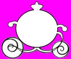 princess carriage template mickey fan program or cinderella carriage program cricut