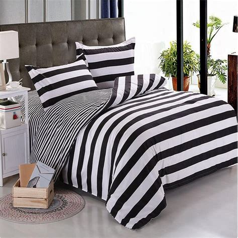 black white striped bedding online buy wholesale black white striped bedding from