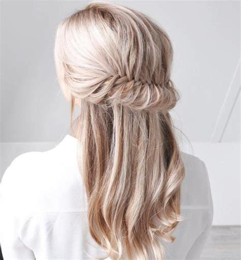 half up half down daily hairstyles photos half updos for long hair black hairstle picture