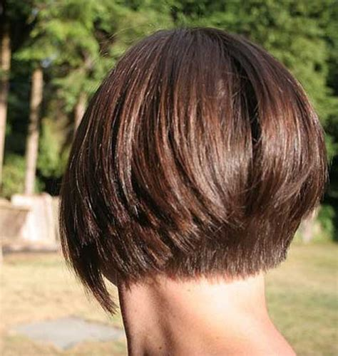 bob wedge hairstyles back view short inverted bob hairstyle back view