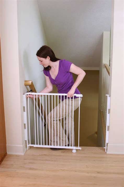 best baby gate for top of stairs with banister best baby gates for top of stairs newsonair org