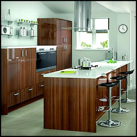 Slab Kitchen Cabinet Doors Slab Kitchen Cabinet Door In Wooden Brown Akc