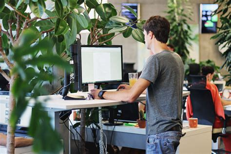 Standing Desk Productivity by 26 Office Improvements For Your Productivity Desktime