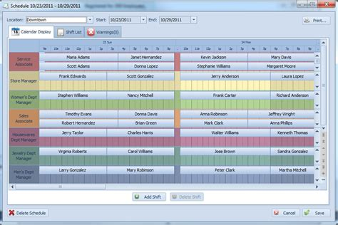 employee scheduling pro easy to use employee scheduling