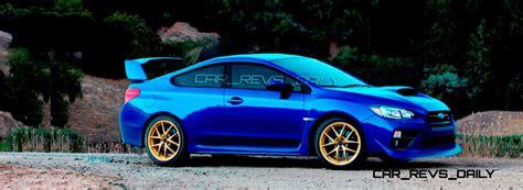subaru coupe spec rendering 2016 subaru wrx sti rs500 coupe