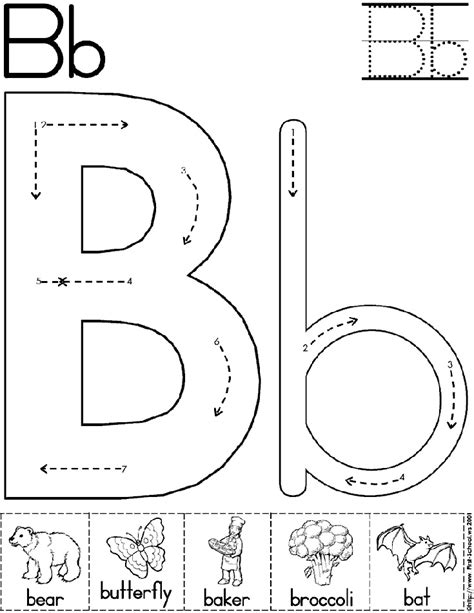 kindergarten activities on pinterest abc worksheet letter b alphabet letter b worksheet