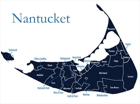 nantucket map nantucket favorite places spaces