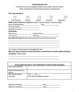 incident report form template qld incident report template 39 free word pdf format