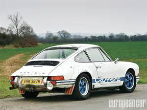 1973 Porsche 911 Rs 1973 Porsche 911 Rs Lightweight European Car