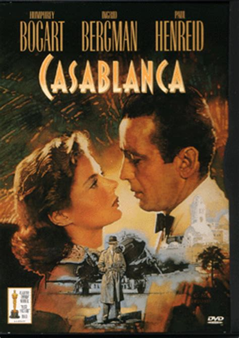Casablanca 1943 Review And Trailer by Best Picture Casablanca 1943 And Food
