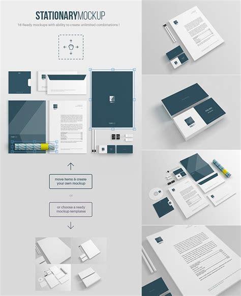 branding design mockup free 60 free branding identity stationery psd mockups