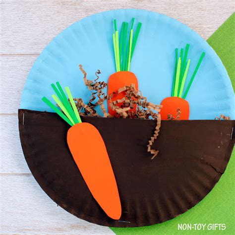 gardening crafts for carrots in the garden craft for non gifts
