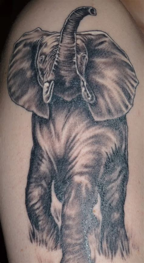 elephant tattoos for men