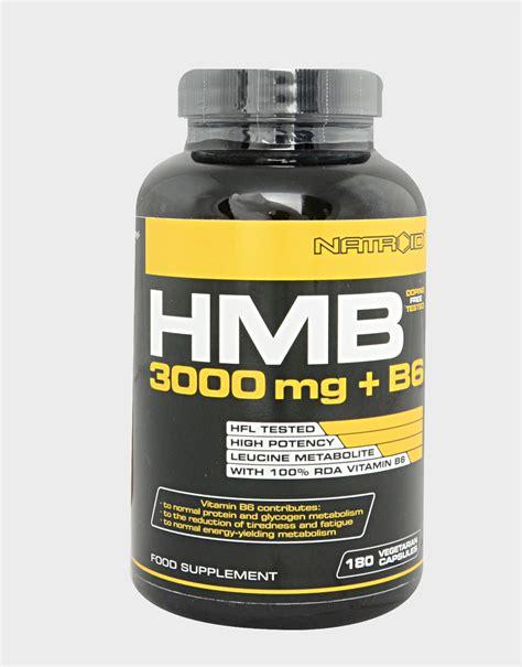 supplement hmb hmb 3000mg b6 by natroid 180 capsules 36 16