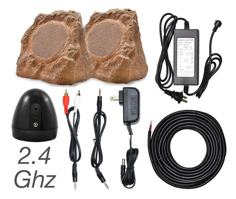 wireless outdoor speakers rock wr pair osd audio