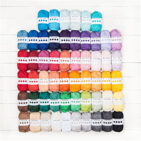 Paintbox Yarns Cotton Dk Spearmint Green paintbox yarns cotton dk all 56 shades colour pack