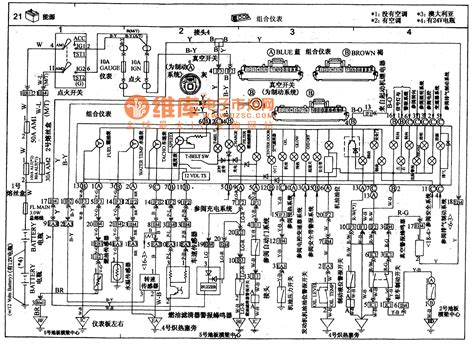 toyota coaster coach combined meter circuit wiring circuit