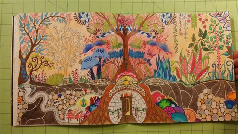 enchanted forest coloring book review the enchanted forest by johanna basford coloring