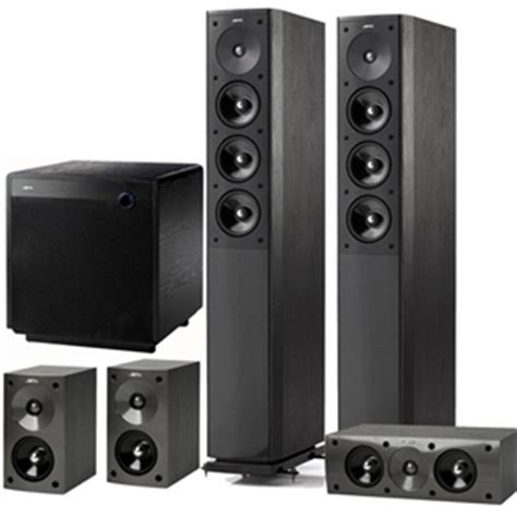 jamo 5 1 home cinema speaker system with 550w sub woofer