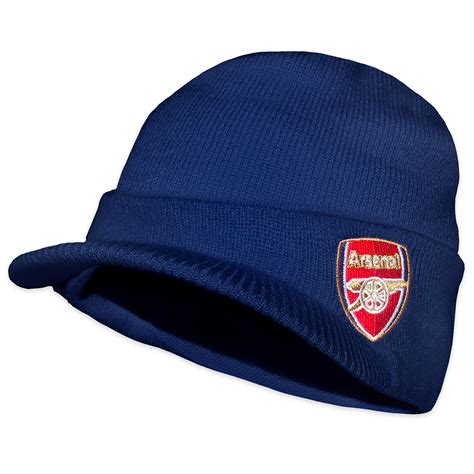 arsenal hat arsenal fc official football gift adults knitted peaked