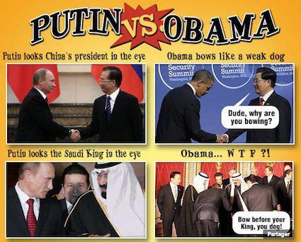 Putin Obama Meme - putin vs obama