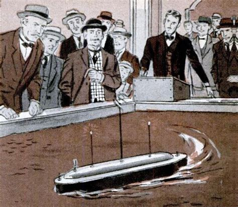 Nikola Tesla Inventions Tesla S Boat A Drone Before Its Time
