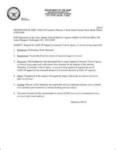 Memo example army appointment memo example army memorandum format
