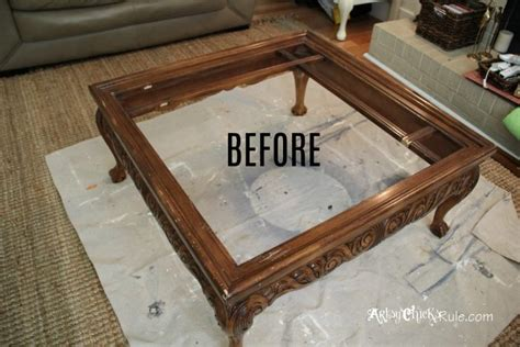 coffee table turned ottoman thrift store coffee table turned diy tufted ottoman