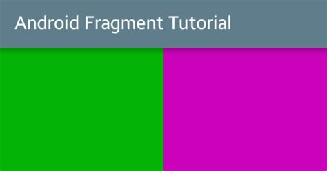 android fragments tutorial with exle viral android tutorials exles ux ui design - Android Fragment Tutorial