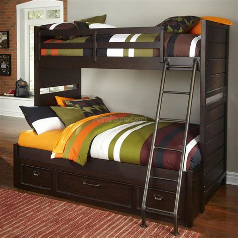 Bunk Beds by Different Types Of Bunk Beds For Ward Log Homes