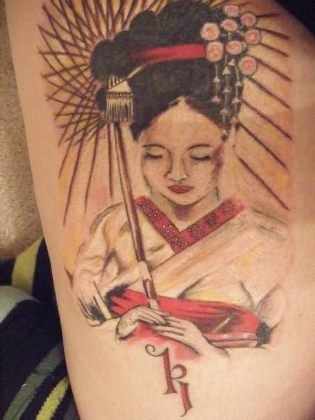 le geisha tattoo harlow 58 tatouages de geishas de style pin up