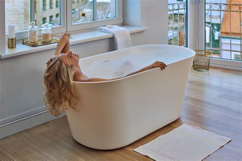 solid surface bathtubs aquatica tulip wht purescape 701m freestanding solid surface bathtub