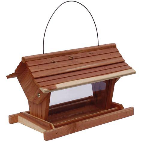 shop garden treasures garden treasures cedar platform bird