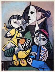 picasso paintings and child pablo picasso and child