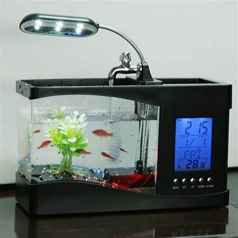 Usb Aquarium Mini multifunction electronic usb desktop fish tank mini usb aquarium ebay