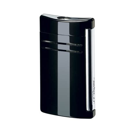 st dupont maxijet lighter black as
