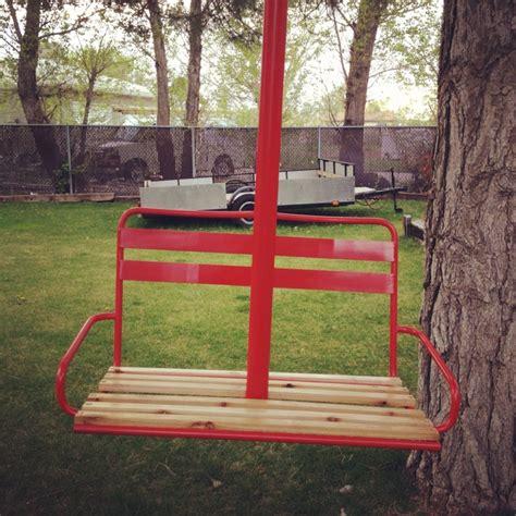 ski lift chair swing ski lift tree swing for the home pinterest