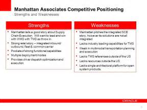 oracle value chain execution sales ppt
