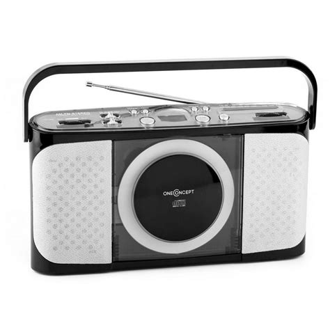 format cd player di mobil oneconcept portabler cd player radio ukw mw vollmobil